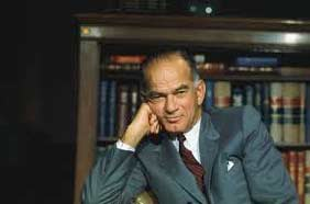 "Senator Fulbright authored several books, including ""The Arrogance of Power,"" ""The Crippled Giant,"" and ""The Price of Empire."""